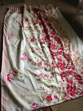 Shabby Chic Laura Ashley Panelled Curtains