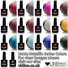 VB® Line Matte Metallic Super Color UV/LED Soak Off Nail Gel Polish Colour