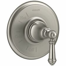 Kohler K-T72767-4-BN Rite-Temp Pressure-Balancing Valve Trim With Lever Handle,