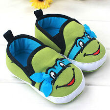 Infant Baby Boy Girls Soft Sole Crib Toddler Shoes Newborn 0- 18 Months Famous