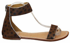 Women shoes sandal ankle strap leather skin fashion Freida Us size 3 to 12