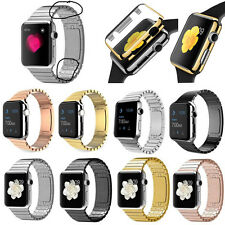 1:1 Original Link Bracelet Stainless Steel Watch Bands For Apple Watch Strap
