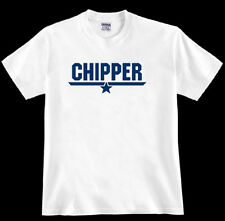 * CHIPPER * tom Top cruise F-14A fighter jet Gun navy pilot 80's fan TSHIRT