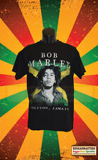 BOB MARLEY KINGSTON JAMAICA DOUBLE SIDED T-SHIRT REGGAE RASTA ROOTS & CULTURE