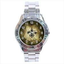 New Orleans Saints Stainless Steel Watches - NFL Football