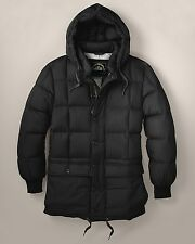 Eddie Bauer Kara Koram Men's Down Parka Filled Jacket Coat NWT Black KaraKoram