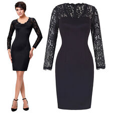 Short Lace Mother of the Bride Dress Bodycon Cocktail Party Evening Formal Gown