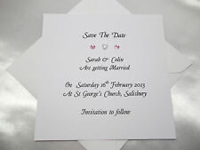 Personalised Save The Date Cards/Wedding Invitations/Engagement Party Invites