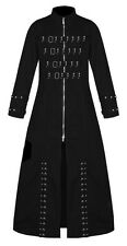 SLAYER GOTHIC PUNK HELL RAISER VAMPIRE GOTH JACKET TRENCH COAT