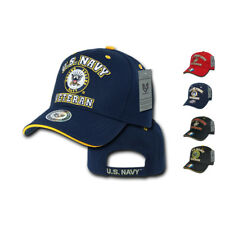 1 Dozen US Air Force Army Marines Navy Veteran Vet Military Hats Wholesale Lots!