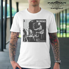 THE SPECIALS GHOST TOWN T SHIRT - SKA - 2 TONE - RUDEBOY -  MUSIC TEE