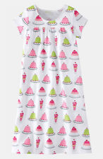 MINI BODEN Printed Nightie 2 3 4 NEW RRP £22 Long Cotton Quirky Ice Cream Sundae