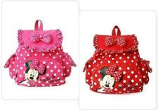 Minnie Mouse Backpack Tote Purse Handbag Bag Women Girls Baby Princess, Mickey