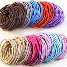 50pcs Fashion Women Girl Elastic Hair Ties Band Rope Ponytail Holder Accessories