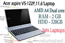 "Acer aspire V5-122P,11.6""Laptop, AMD A4 Dual core, 2GB RAM, 500HDD-06200"