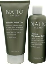 Natio For Men SHAVE KIT = Shaving Cream OR Gel PLUS Aftershave Balm OR Lotion