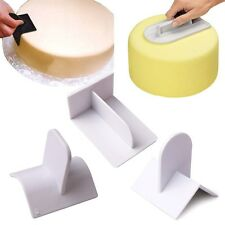 1pc Cake Smoother Polisher Tools Cutter Decorating Fondant Sugarcraft Icing Mold