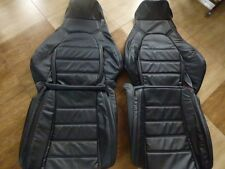 1990-1995 Mazda Miata Synthetic Leather Seat Covers Black