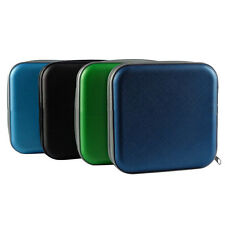 New 40 Disc CD DVD Storage Zipper Bag Case Hard Box Wallet Album Holder  GT