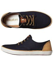 Women's Kustom Romy Indigo Denim Shoes, Size 6, 7. NIB, RRP $69.95.