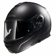 LS2 FF325 Strobe Flip Front Motorcycle Helmet Modular Bike Crash Lid Matt Black