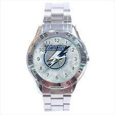Tampa Bay Lightning Stainless Steel Watches - NHL Hockey