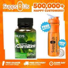 HORLEYS ACETYL L-CARNITINE 120 CAPS FAT BURNER CARNITINE ENERGY WEIGHT LOSS