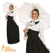 Adult Posh Victorian Woman Costume Ladies Historical Fancy Dress Outfit New