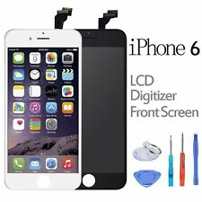 For iPhone 6 Front LCD Display Touch Screen Replacement Digitizer Black / White