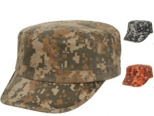 Camouflage Camo Army Military Digital Cotton Twill Washed Hats Hat Cap Caps