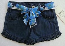 Guess Girls Blue Shorts with Sash Belt