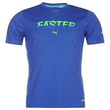 Puma Mens Gents PWR Cool Running T-Shirt Crew Neck Short Sleeve Top Clothing New