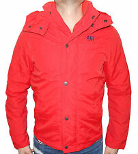 Abercrombie & Fitch Jacket Mens Warrior Fleece Lined Jacket M L XL Red NWT