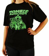 "Zombie Ghost Train ""Death Card"" GLOW IN THE DARK T-Shirt - FREE SHIPPING"