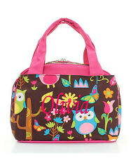 Personalized Cutie OWL Insulated Cooler Thermal Tote Box Lunch Bag Monogram