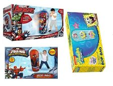 minions/Avengers/ SpongeBob /Spider-Man Web-Warriors/ Bop Bag Inflatable Toy.