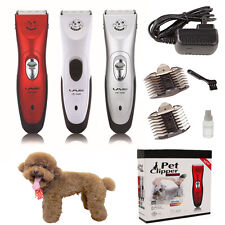 Electric Pet Dog Clipper Animal Hair Blade Cat Grooming Cutter Trimmer Shaver