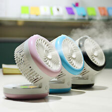 Portable Rechargeable USB Mini Cooling Misting Fan & Personal Beauty Humidifier