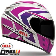 BELL VORTEX GRINDER GLOSSY PINK FULL FACE MOTORCYCLE HELMET DOT SNELL XS-XXL
