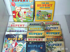 RUPERT BEAR ANNUALS 1966/2005 ~ click HERE to chose and order