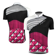 2016 Mens Short Sleeve Cycling Jerseys Outdoor Sports Bike Clothing Sports Wear