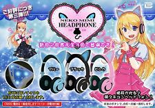 Glowing cat ear headphones 3 nekomimi cute kawaii Cosplay Party AKIBA F/S Japan