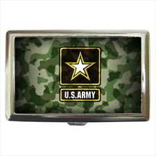 NEW Cigarette Credit Business Card Holder US ARMY United States Military