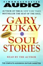 BRAND NEW Soul Stories by Gary Zukav 2000 Unabridged 4 audio cassette tapes