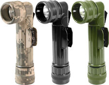 Genuine GI Military Angle Head D-Cell Outdoors Flashlight