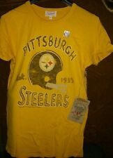 Large or XL Pittsburgh Steelers Top NFL Junk Food T-Shirt Womens Size L, X-Large