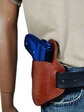New Barsony Burgundy Leather Belt Slide Gun Holster CZ EAA FEG Full Size 9 40 45