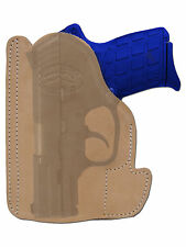 New Barsony Tan Leather Pocket Holster SIG Walther Small 380 Ultra Comp 9mm 40