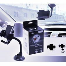 Universal Car Windshield Dash Suction Cup Mount GPS Phone Holder 360° Rotating