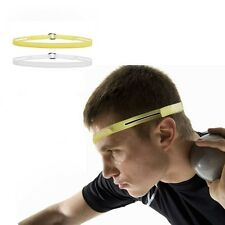 New Silicone Headband Sweatband Burst Sweat Control Head Band Gutter for Sport